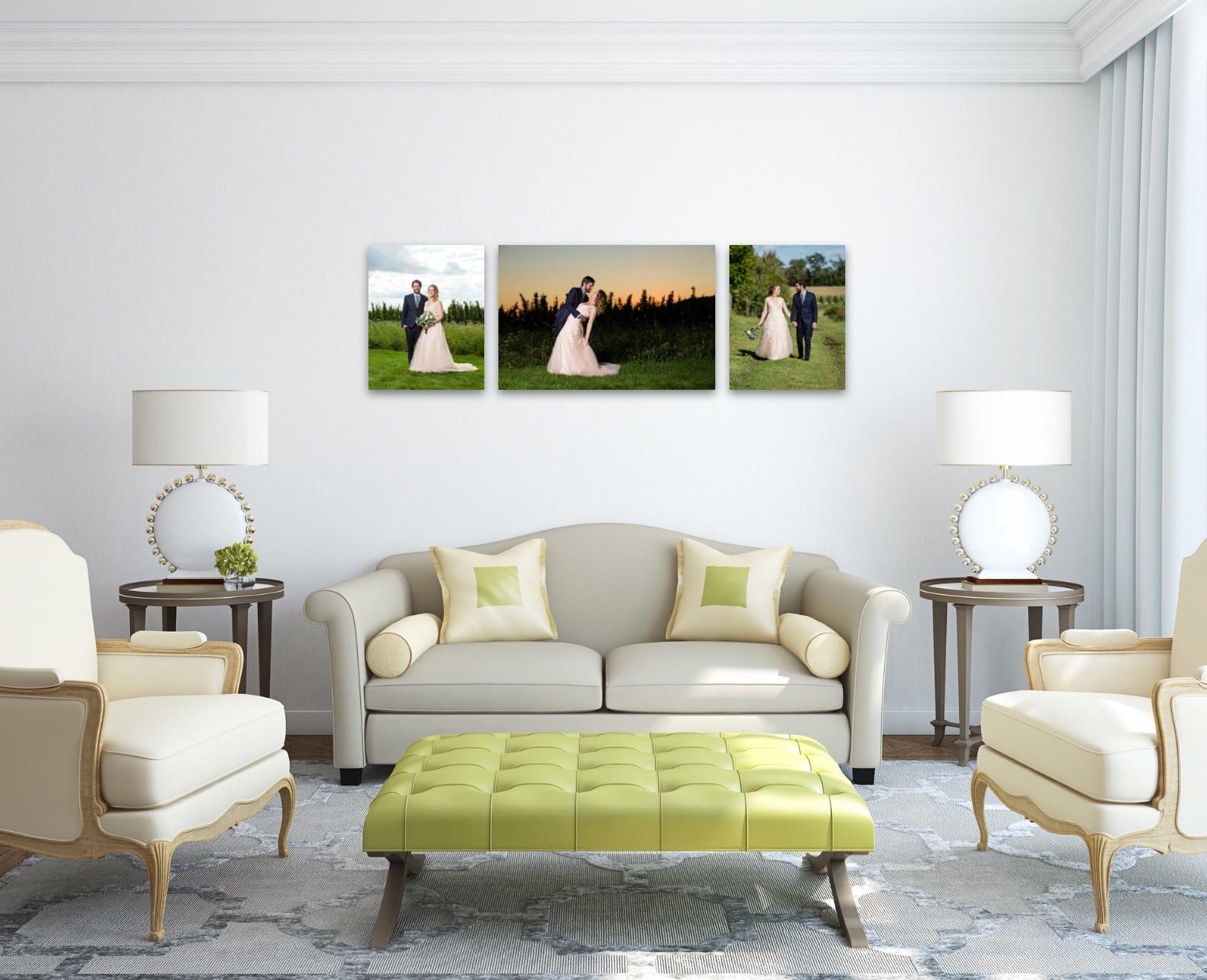 Wedding Wall Display