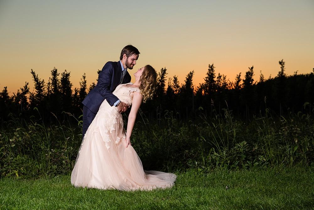Elisha & Tyler | Elwood, IL Backyard Wedding